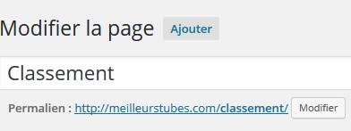 Slug WordPress