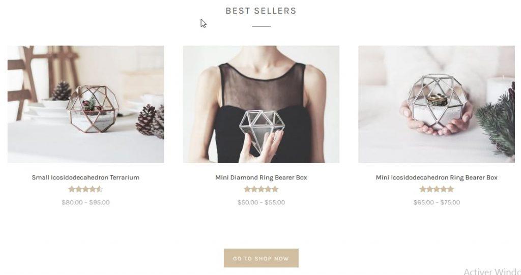 Best sellers products thème Primrose